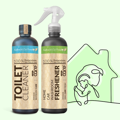 All-Natural Starter Cleaning Kit | 2 x 400 ml