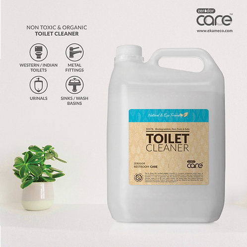 5L CARE Toilet Cleaner | 'Reduce and Reuse' Can