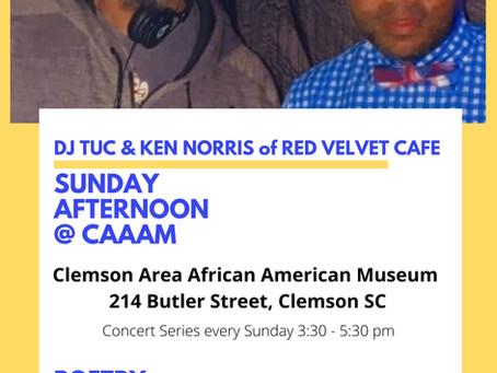 CAAAM Concert  Series - DJ Tuc & Red Velvet Cafe - April 4th 3:30pm - 5:30pm
