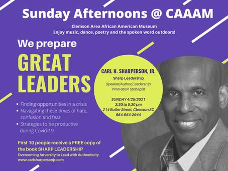 CARL H. SHARPERSON, JR. Sharp Leadership