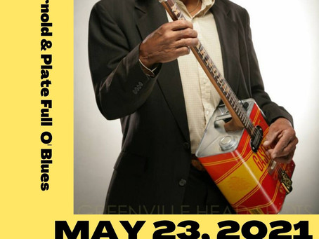 CAAAM Concert Series - Mac Arnold & Plate Full O' Blues - May 23rd, 3:30pm-5:30pm