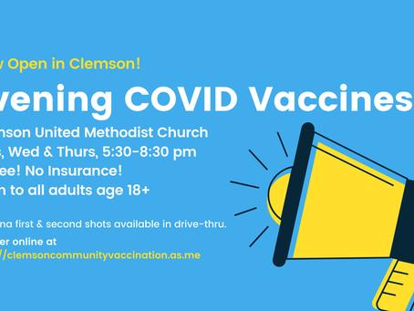 Clemson Community Vaccinations