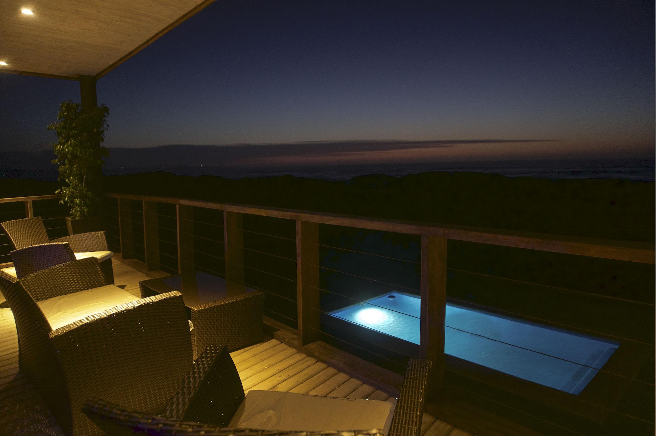 Terraza SurPoniente Noche