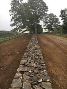 200' Handstone Wall
