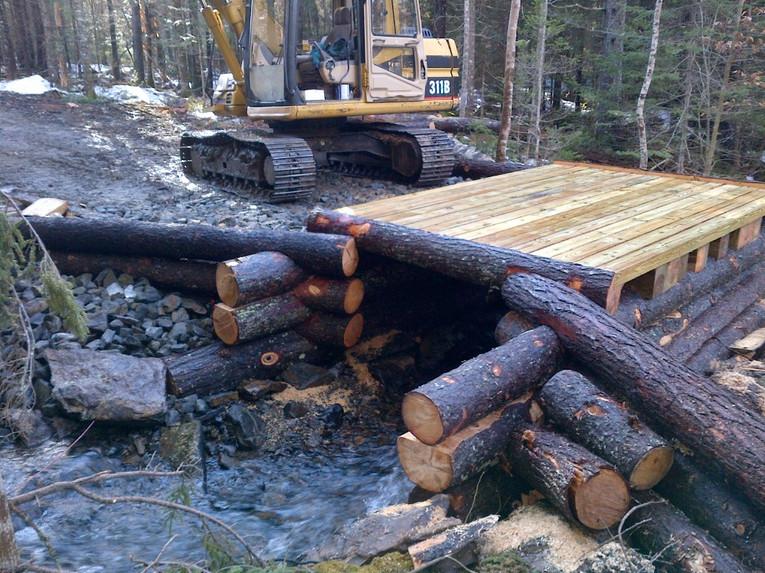 Creating the Horse Trail Bridge