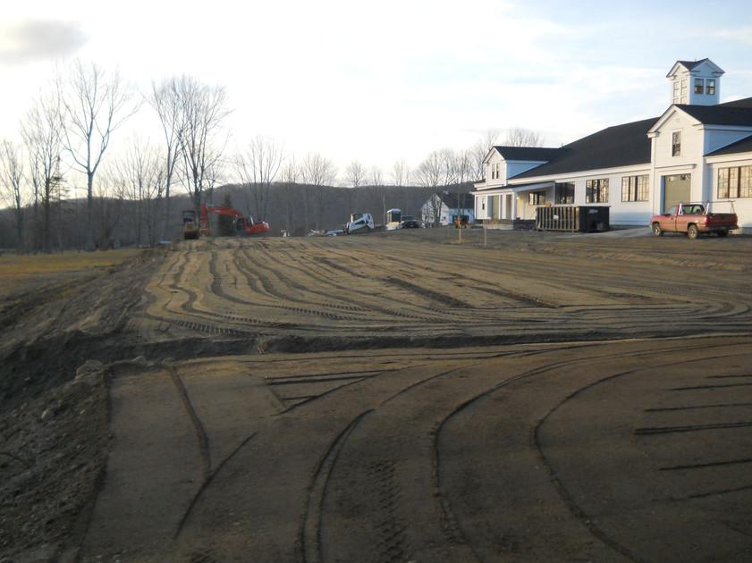Large Riding Arena Site Prep