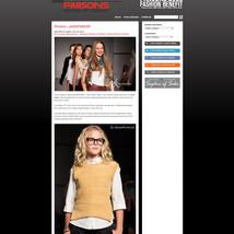 Parsons School of Fashion Blog
