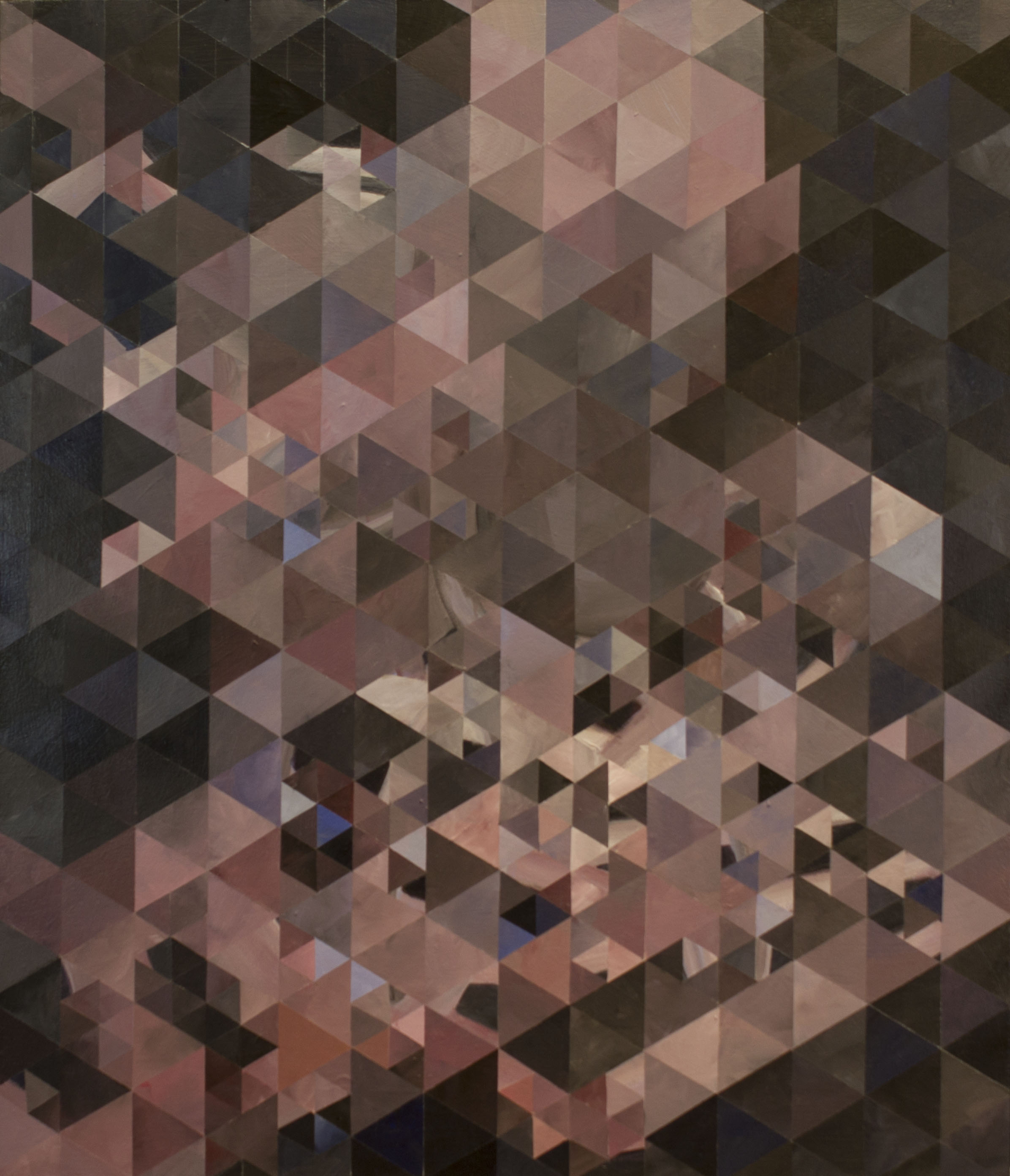 """Shift"" 2015 3'x3.5'"