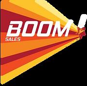 BOOM! Sales logo