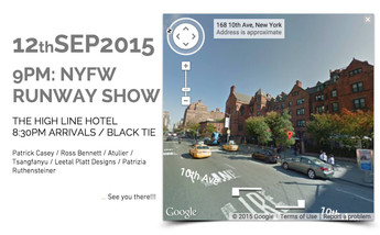 2 WEEKS LEFT!!! Runway Show in OFS New York Collections 2015 is COMING SOON