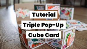 Triple Pop-Up Cube Card Tutorial