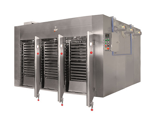 Six Trolley | 180-Tray Industrial Food Dehydrator | 563 sq. ft Total Tray Area