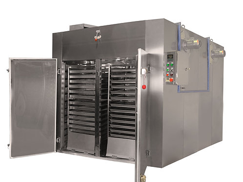Four Trolley | 120-Tray Industrial Food Dehydrator | 375 sq. ft Total Tray Area