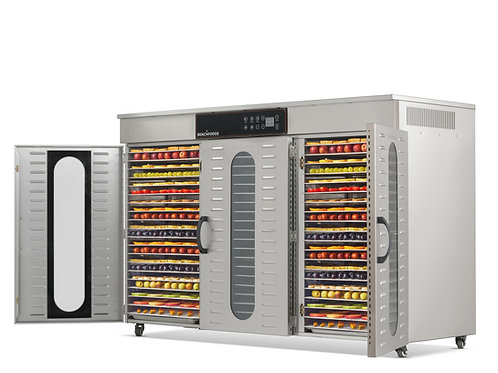 3 Zone - 60 Tray Commercial Food Dehydrator - 9.6m² Tray Area