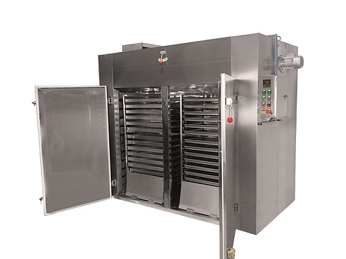 Double Trolley | 60-Tray Industrial Food Dehydrator | 188 sq. ft Total Tray Area