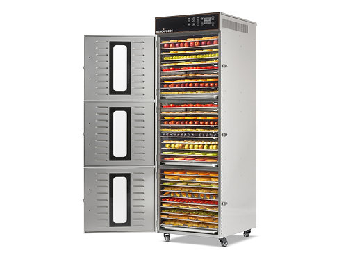 3 Zone - 30 Tray Commercial Food Dehydrator - 4.8m² Tray Area