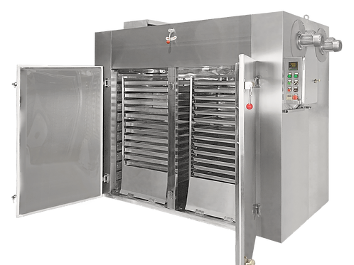 Double Trolley | 60-Tray Industrial Food Dehydrator | 17.7m² Total Tray Area