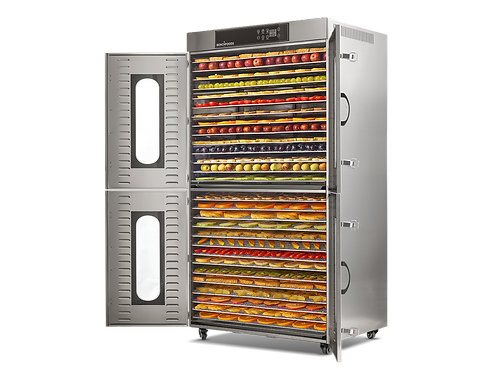2 Zone - 28 Tray Commercial Food Dehydrator - 11.90m² Tray Area