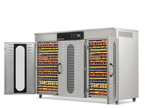 3 Zone - 60 Tray Commercial Food Dehydrator - 104 sq.ft Tray Area