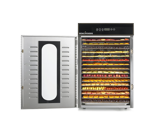 16 Tray Premium Commercial Food Dehydrator - 27.5 sq. ft Tray Area