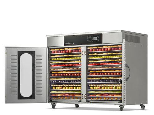 2 Zone - 32 Tray Commercial Food Dehydrator - 55 sq.ft Tray Area