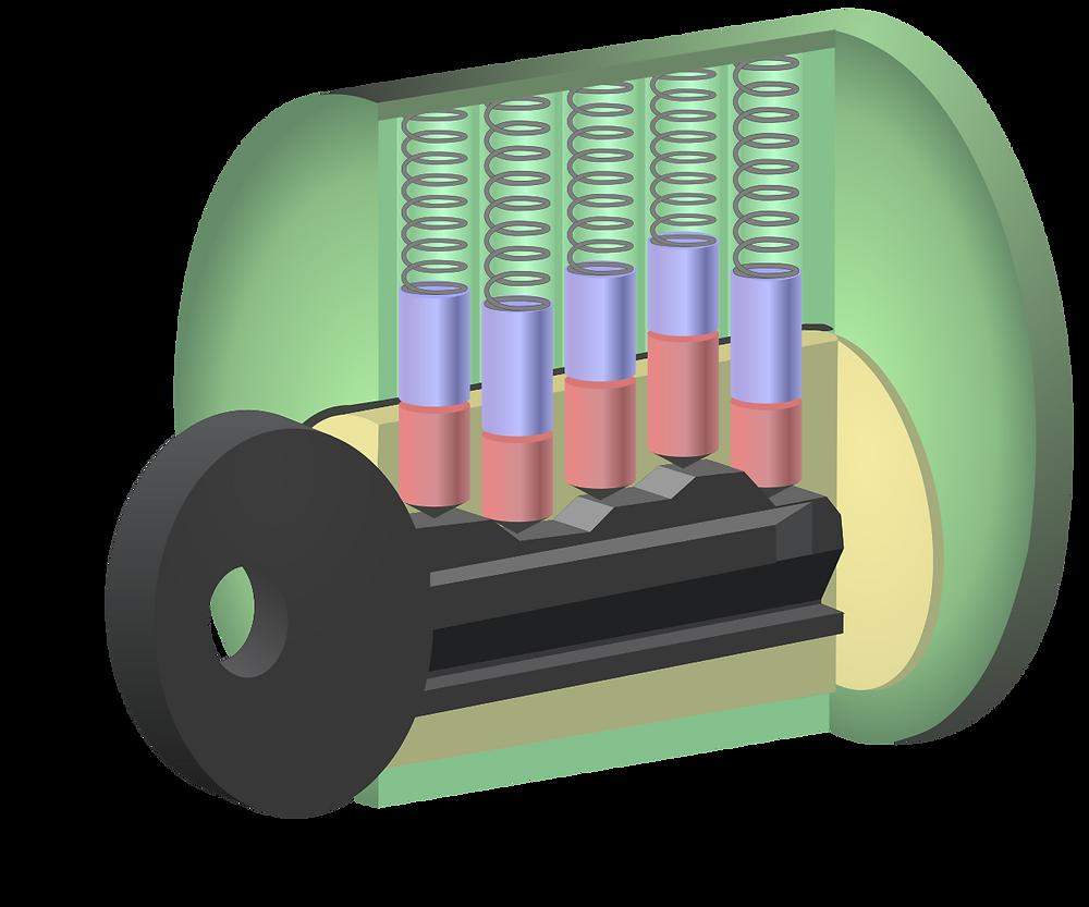 Regular 5 pin cylinder