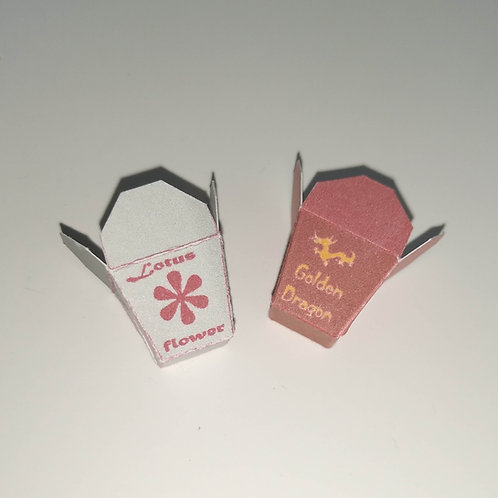 12th Scale Chinese Takeaway Carton