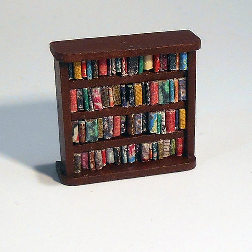 48th Scale Low Bookcase 4 Shelves