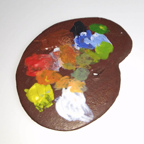 12th Scale Artist's Palette