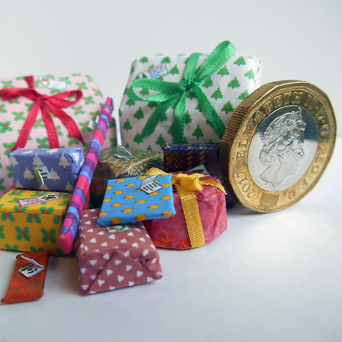 24th Scale Christmas Presents Set of 6