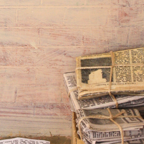 12th Scale Bundle of Old Newspapers