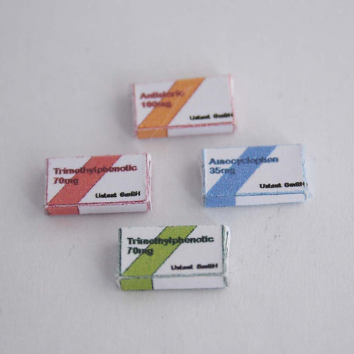 12th Scale Box of Modern Pills - sealed