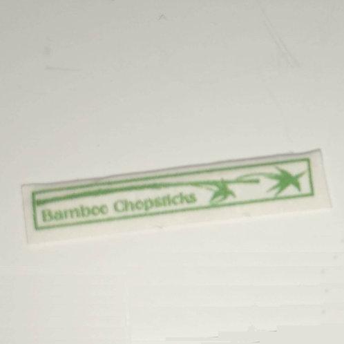 12th Scale Chopsticks  Closed