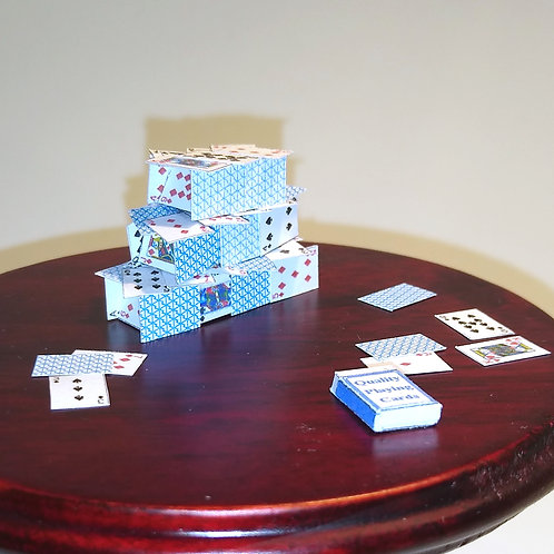 12th Scale House of Cards
