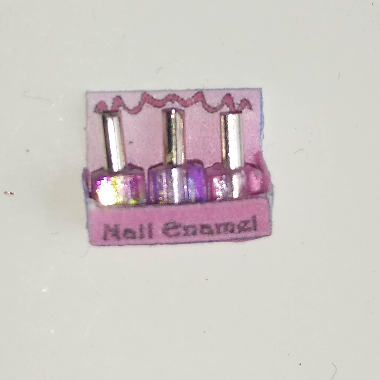 nail pink 3 box