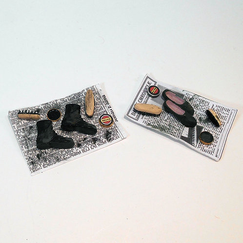 12th Scale Shoe Cleaning