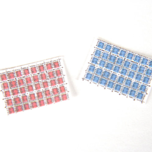 24th Scale Postage Stamps