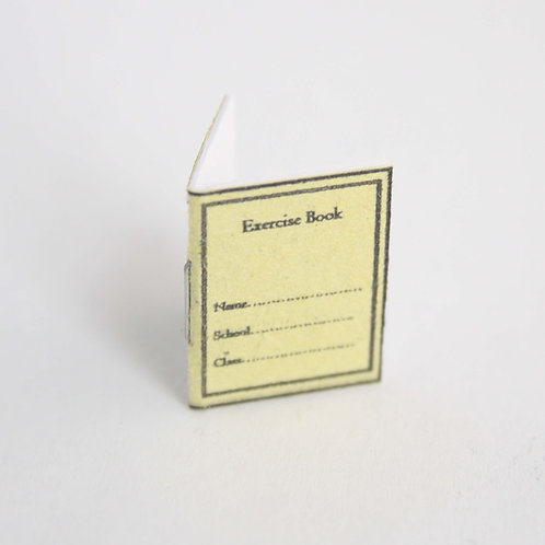 12th Scale Jotter Yellow Blank