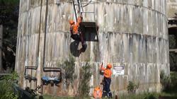 Bulk storage silo access