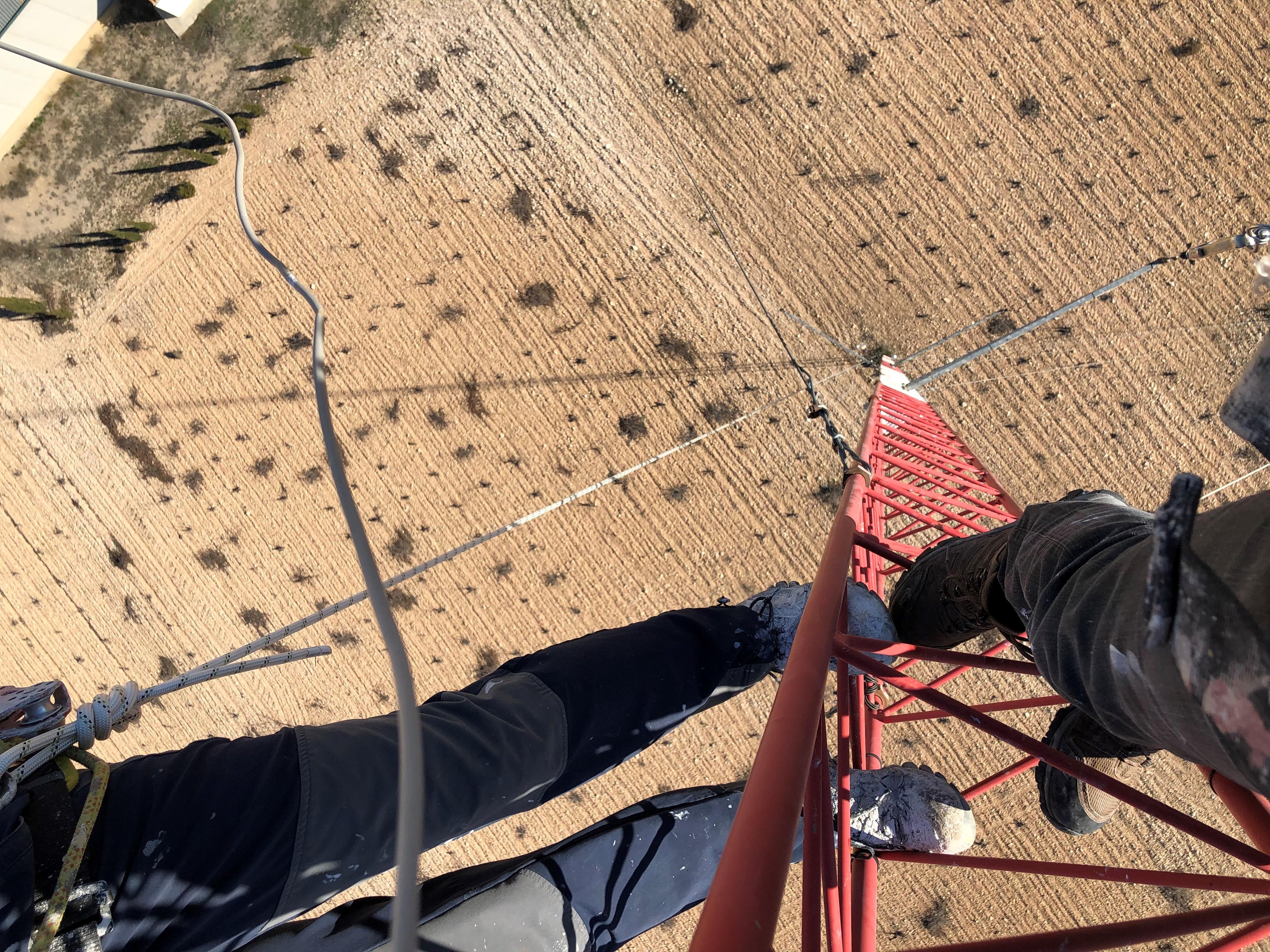 Desmontaje antena