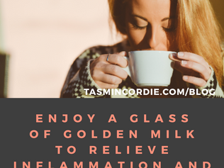 Enjoy a Glass of Golden Milk to Relieve Inflammation and Improve Your Skin