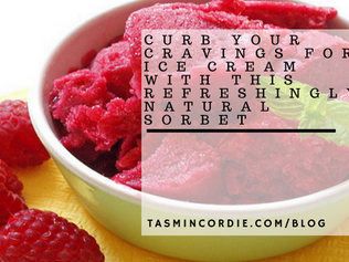 Curb Your Cravings for Ice Cream With this Refreshingly Natural Sorbet