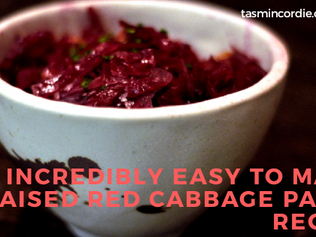 Incredibly Easy to Make Braised Red Cabbage Paleo Recipe