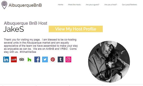 AlbuquerqueBnB Host Profile