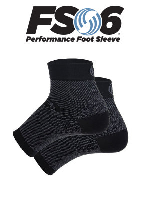 FS6 compression sock (black)