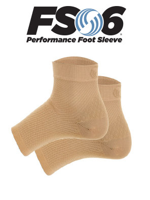 FS6 compression sock (natural)