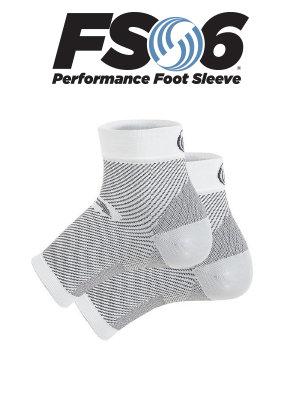 FS6 compression sock (white)
