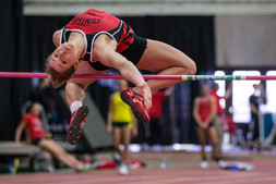 University of Central Missouri Jennies high jumper Erin Alewine