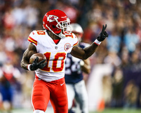 Kansas City Chiefs wide receiver Tyreek Hill (10)