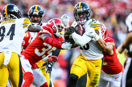 Pittsburgh Steelers running back Le'Veon Bell (84)